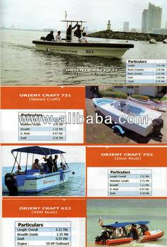 Fiberglass Leisure Boat