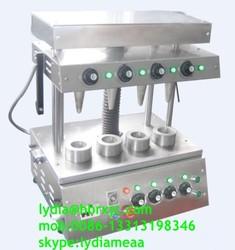 Cone making machine/Mini Pizza Cone Machine/Stainless Steel Pizza Cone Machine For Sale