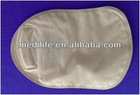 One-piece closed pouch ostomy