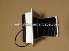 square tiltable 90 degree led downlight