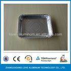 Rectangular Environmental Convenient Pollution-free Disposable Aluminium Foil Trays