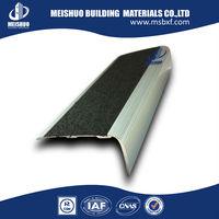 china factory flexible anti slip aluminum stair nose trim