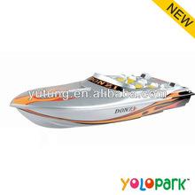 Radyo kontrol yem tekne, 4w rc yarış tekne oyuncaklar, radyo kontrol büyük yüksek sürat teknesi