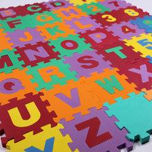 schiuma eva alfabeto puzzle ad incastro tappetino per i bambini