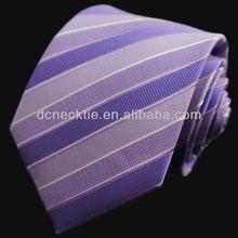 custom made silk striped cheap neckties