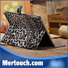 Leopard Pattern Stand PU Leather Case For ipad 5 ipad Air