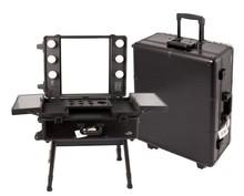 High quaility aluminum trolley case/cosmetic case/makeup case