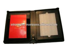 digital tablet cover/ digital notebook leather case