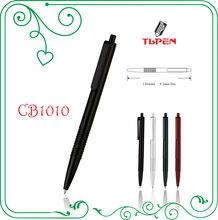 promotional plastic push action ballpoint pen CB1010