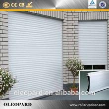 Fuente de alimentación de aluminio aleación de puertas para garaje
