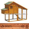 techo plano de la casa de aves de corral pollo coop dfc007