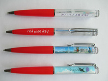 hot selling high quality promotional liquid floating pen