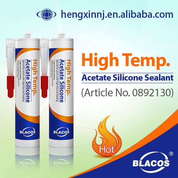 High quality High Temp. Acetic Weathering Silicone Sealant