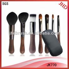 7pcs high quality makeup brush set
