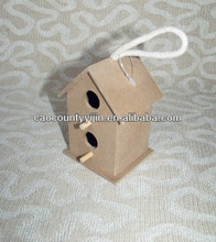 cheap small wood bird house/cage