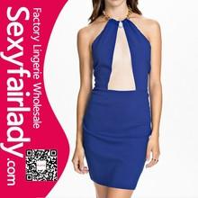 Wholesale Beautiful so cheap Sexy Polychromatic Plus size Pierced Party Dress