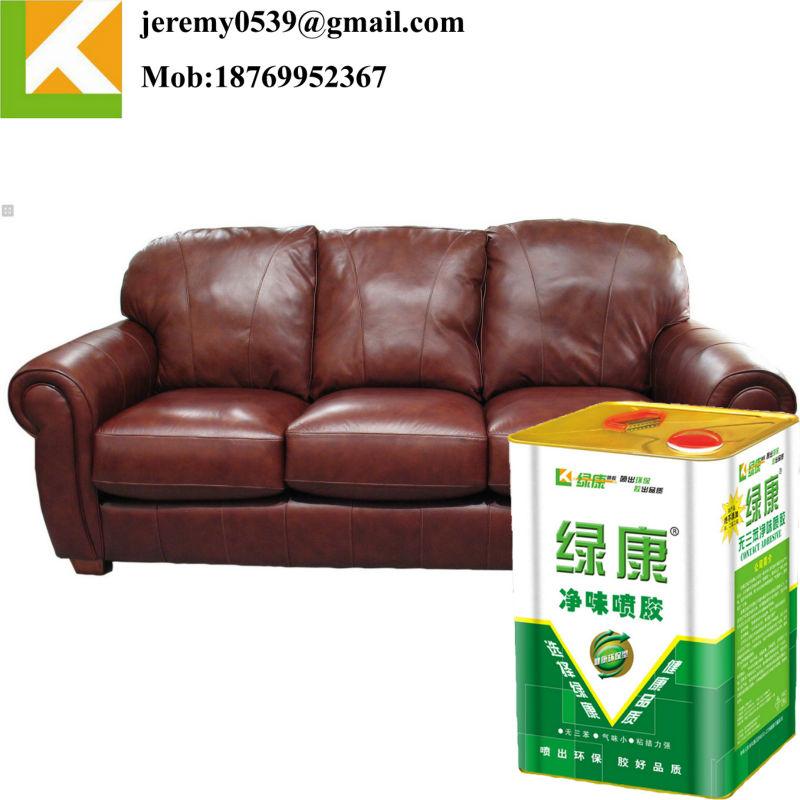 Spray glue for foam, sponge, upholstery, furniture