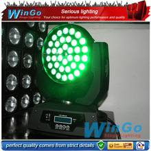 36 x 12w / 10w rgbw high power led/ LED wash moving head light for professional dj stage system