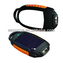Rubber and ABS case Solar Charger For MP3&Phone