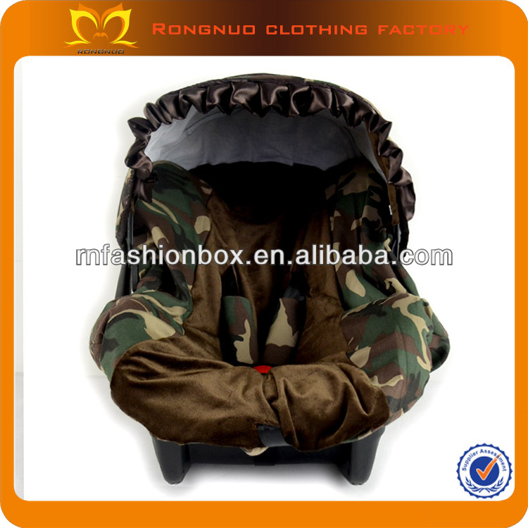 2014 the new designer New Stylish car seat covers camouflage Printed custom baby car seat covers baby trend car seat cover