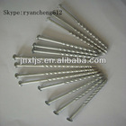 Screw Shank Wire Coil Nail For Coil Nail Gun/Galvanized Coil Roofing Nails