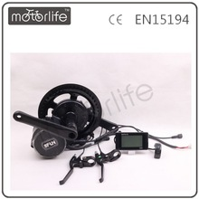 MOTORLIF SUPPLY bafang crank motor kits, 36/48V 250w~750w crank motor, middle/central drive ebike kits
