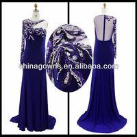 Unique One A Kind Of Rhinestone Dresses New Fashion Prom Dresses / Evening Dresses
