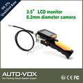 Máquina de coser 8.2mm cámara de inspección con 3.5 pulgadas del monitor