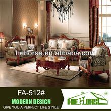 FA-512# pictures wood china 2013 new design sofa furniture