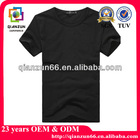 Plain black t shirt for man