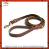 2015 new design braided leather dog leash/pet leash