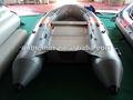 Ce material pvc piso de alumínio alta- velocidade de barco inflável