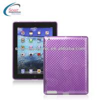 Stylish Diamond TPU Gel Skin Cover Case for iPad 2/3/4