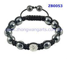 2012 unique design personalized bracelets,frequence white beads shamballa jewelry wholesale