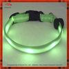 Fashion Light Green LED flashing dog collar