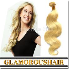 Unique Hair Bands 613 Blonde Hair Weft Unprocessed Virgin Hair Bundles