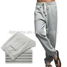 cheap mens sports pants 100% cotton mens fleece pants with drawstring