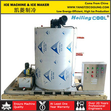 small 2000kg/day Salt water flake ice maker with long quality warranty
