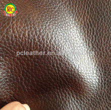 car seat leather with sponge pvc leather fireproof knitted pvc leather for car seat