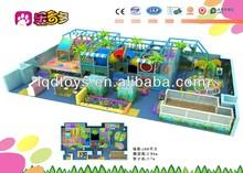 Dark Blue Indoor Play Centre Equipment Withs Sand Pit