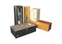 Manufacturing cardboard wine packaging box,paper packaging box for wine bottle carrier,wine packaging bag in box