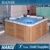 HS-194Y square freestanding 6 people hot tubs/ hydro spa bath/ spa hot tub