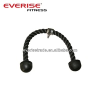 Fitness cable attachment