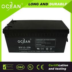 12v250ah sealed lead acid batteries, lead batteries, lead acid cell
