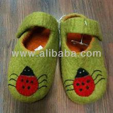 Children Woolen Felt shoes