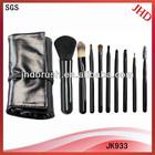 9pcs brushes high quality make-up brushes