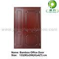 grado superior de bambú de oficina de oficina puerta interior