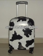 cow print travel case travel luggage sale