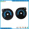 Custom 2D Polycarbonate Good Light Transmission Auto Car Speedometer Supplier
