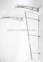 morder-clear Acrylic glass window door canopy window canopy designs